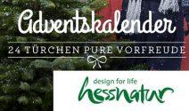 Hessnatur-Adventskalender: Preise im Wert von CHF 20'000.- gewinnen