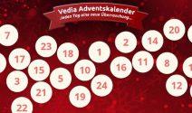 Jeden Tag Überraschungspreise bei Vedia gewinnen