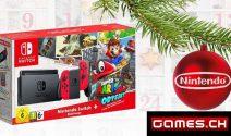 Nintendo Switch und weitere Games.ch Adventspreise gewinnen