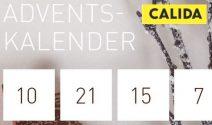 Täglich attraktive Mode-Adventspreise von Calida gewinnen