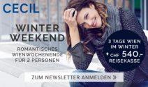 Wien Weekend zu zweit inkl. Reisegeld gewinnen
