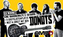 2 x Donots Tickets inkl. Meet & Greet sowie E-Gitarre gewinnen