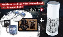 2 x Star Wars Goodies inkl. Amazon Echo gewinnen