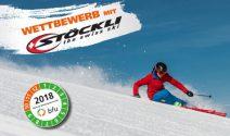 3 x 1 Paar Stöckli Ski gewinnen