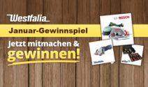 Bosch Handkreissäge, Westfalia Tauchsäge oder Werkzeugset gewinnen