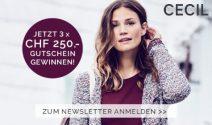 Cecil Gutscheine im Wert von CHF 750.- gewinnen