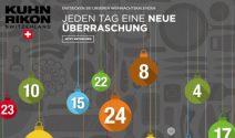 Täglich tolle Adventskalender-Preise von Kuhn Rikon gewinnen