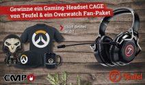 Teufel Gaming Headset sowie Overwatch Goodies gewinnen