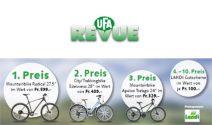 3 x Fahrrad im Wert von über CHF 1'350 oder Landi Gutscheine gewinnen