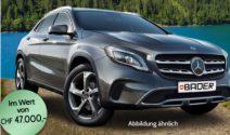 Mercedes Benz GLA gewinnen