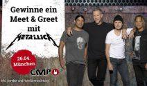 Metallica Ferien in München, Tickets sowie Meet & Greet gewinnen