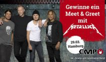 Metallica Ferien, Tickets sowie Meet & Greet gewinenn