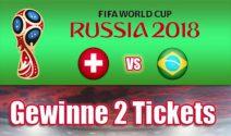 2 x Fussball WM Tickets inkl. Flug und Unterkunft gewinnen