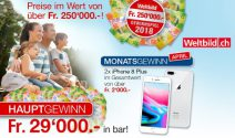 2 x iPhone 8 Plus gewinnen