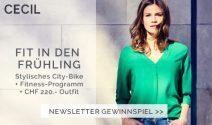 City Bike, Fitness Abo oder Cecil Gutschein gewinnen