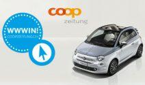 Fiat Cabrio oder 3 x iPhone X gewinnen
