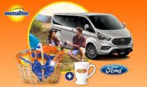 Ford Tourneo oder 100 x Ovomaltine Set gewinnen