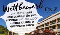 Luxus Übernachtung in Zürich gewinnen