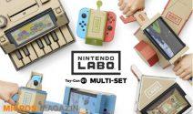 Nintendo Labo Set mit Nintendo Switch gewinnen