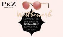 Ray Ban Brille im Wert von CHF 199.- gewinnen