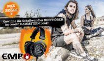3 x Schallwandler Kopfhörer im Rammstein Design gewinnen