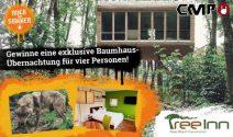 Baumhaus Übernachtung für vier Personen gewinnen