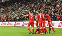 Fussball Reise für das Spiel Schweiz gegen Spanien gewinnen