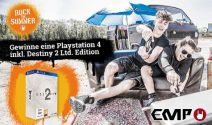 PS 4 inkl. Destiny 2 Ltd. dition Spiel gewinnen