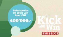 Super TV, Profi Grill, Swisslos Gutscheine und zahlreiche Sofortpreise gewinnen