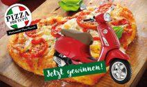 Vespa Primavera oder 3 x Pizza Party gewinnen
