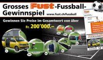 VW California, UHD TV und vieles mehr im Wert von CHF 200'000.- gewinnen