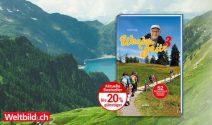 Wanderausflug, WanderFritz Bücher oder SchweizMobil Jahresabo gewinnen