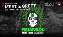 1x 2 Matapaloz Festival Tickets inkl. Meet & Greet gewinnen