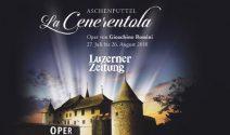 5 x 2 La Cenerentola Tickets für die Open im Schloss Hallwyl gewinnen
