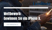 Das nagelneue iPhone X gewinnen