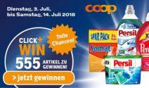 555 Preise im Coop Markenfestival gewinnen