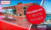 Portugal Ferien zu zweit oder Nati Fan Paket gewinnen