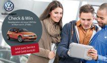 VW Polo im Wert von CHF 27'000.- gewinnen