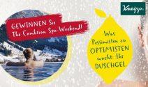 Wellness Weekend im Berner Oberland oder Kneipp Set gewinnen