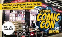 1 x 2 Comic Con Berlin Tickets gewinnen