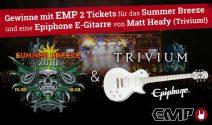 2 x Summer Breeze Tickets inkl. E-Gitarre gewinnen