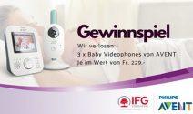 3 x Avent Baby Videophone gewinnen