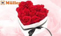 3 x Herzbox mit echten Rosen gewinnen