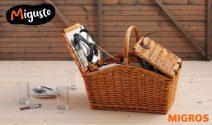 5 x Weide Picknick Korb gewinnen