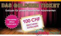 CHF 100.- baby-markt Gutschein gewinnen