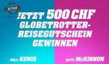 CHF 500.- Globetrotter Gutschein gewinnen