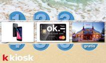 iPhone X, CHF 100.- Master Card oder Zirkus Knie Tickets gewinnen