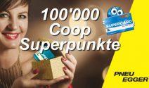 100'000 Coop Superpunkte gewinnen