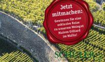 15 x 2 Weinreise nach Wallis gewinnen