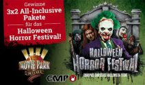 3 x 2 Halloween Horror Festival All Inclusive Paket gewinnen
